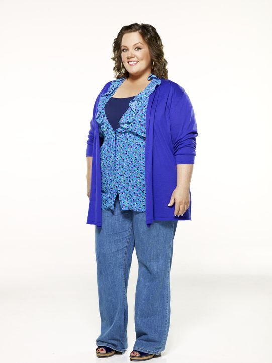 (1. Staffel) - Die Grundschullehrerin Molly Flynn  (Melissa McCarthy) leidet unter ihrem Übergewicht, zumal sowohl ihre Mutter  Joyce, als auch ihr... - Bildquelle: 2010 CBS Broadcasting Inc. All Rights Reserved.