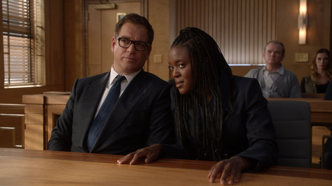 Dr. Jason Bull (Michael Weatherly, l.); Sadie Williams (Krys Marshall, r.) - Bildquelle: 2019 CBS Broadcasting, Inc. All Rights Reserved