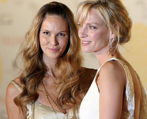 Die besten Bilder der Hollywood-Kult-Schauspielerin  Mit Elle Macpherson - Bildquelle: AFP