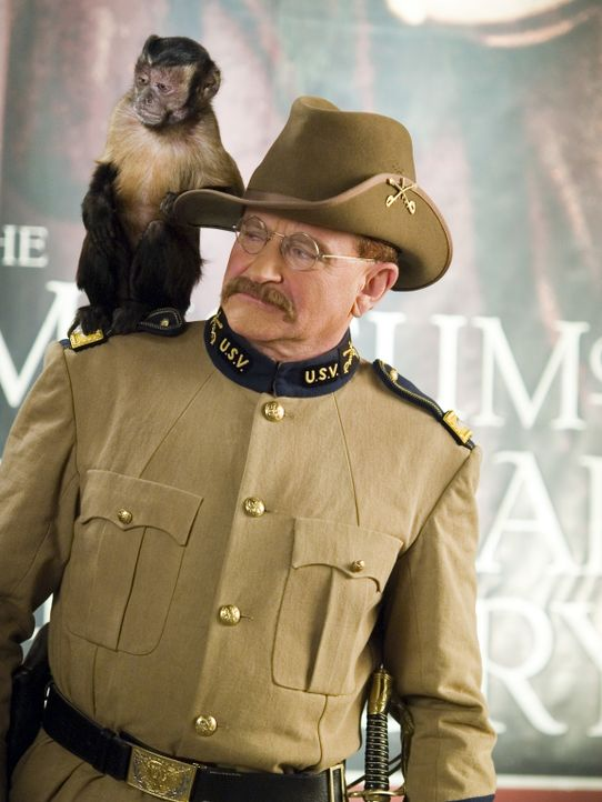 Teddy Roosevelt (Robin Williams) - Bildquelle: 2006 Twentieth Century Fox Film Corporation.  All rights reserved.