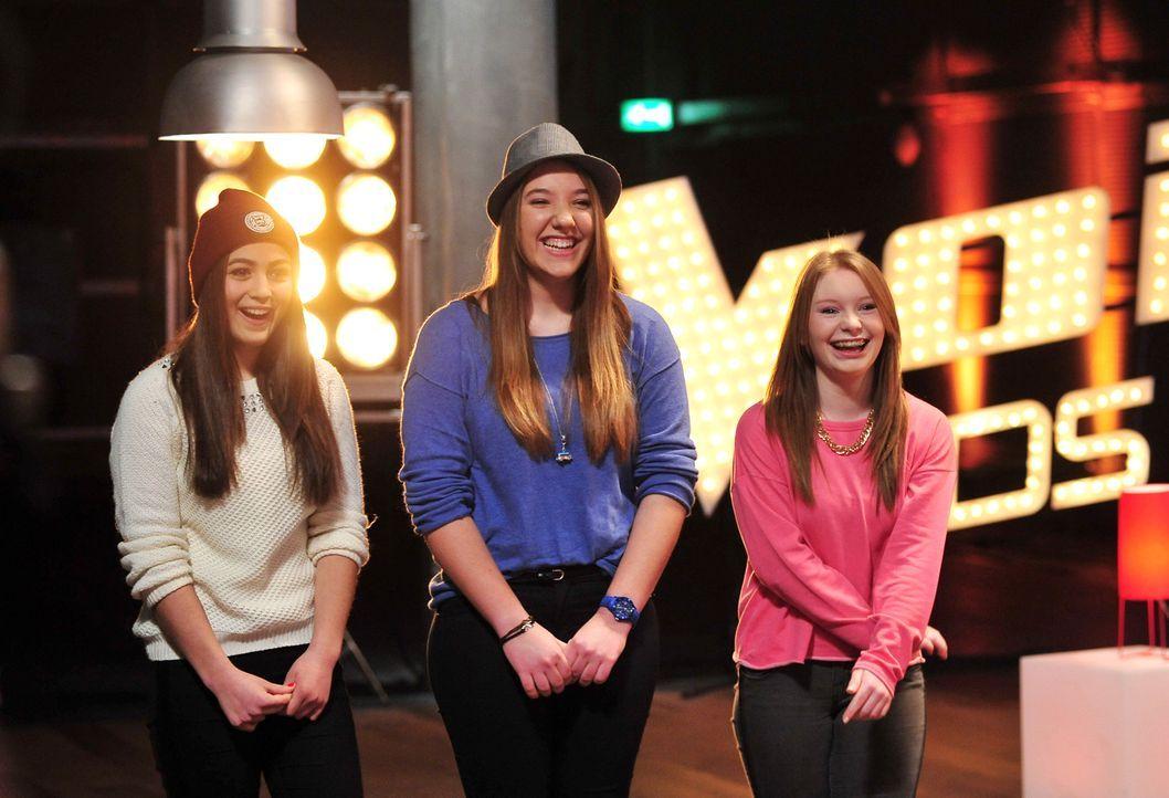 The-Voice-Kids-Stf02-Epi06-Julia-Selin-Caitlin-22-SAT1-Andre-Kowalski - Bildquelle: SAT.1/Andre Kowalski