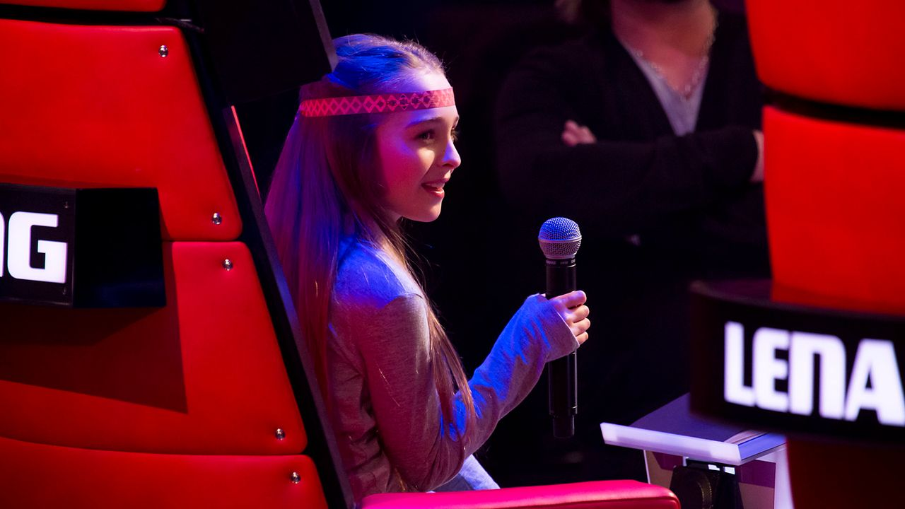 The-Voice-Kids-Nachher-Fabienne-06-Richard-Huebner - Bildquelle: SAT.1/Richard Hübner