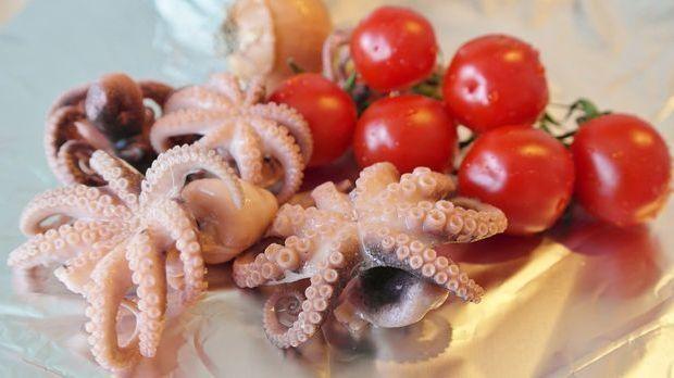 Sommersalat Calamari