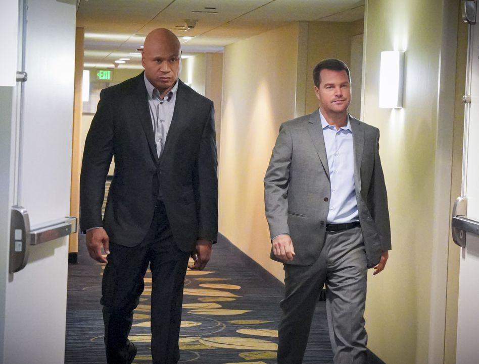 Sam Hanna (LL Cool J, l.); G. Callen (Chris O'Donnell, r.) - Bildquelle: Bill Inoshita 2019 CBS Broadcasting, Inc. All Rights Reserved. / Bill Inoshita