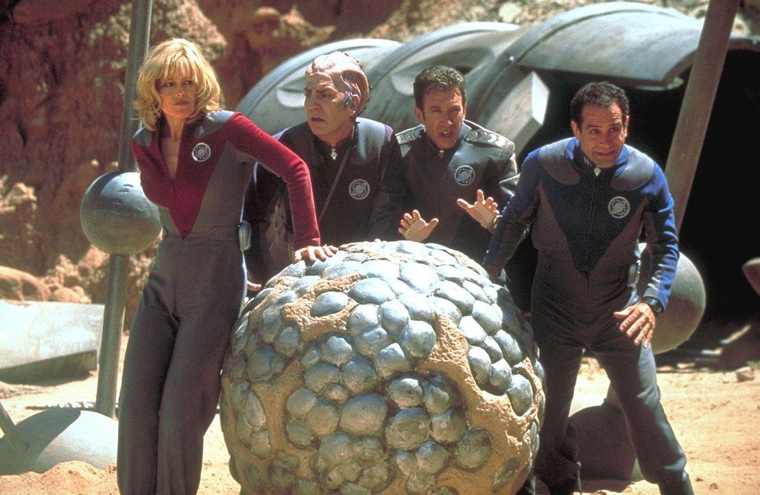 Ohne Drehbuch, ohne Regisseur und ohne die leiseste Ahnung von echter Raumfahrt in tödlicher Mission unterwegs: Jason Nesmith (Tim Allen, 2.v.r.), G... - Bildquelle: DreamWorks Distribution LLC
