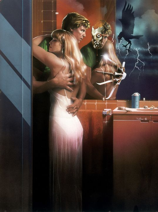 A Nightmare on Elm Street 2: Die Rache - Artwork - Bildquelle: 1985 New Line Productions, Inc. A NIGHTMARE ON ELM STREET 2 - FREDDY'S REVENGE and all related characters and elements are trademarks.