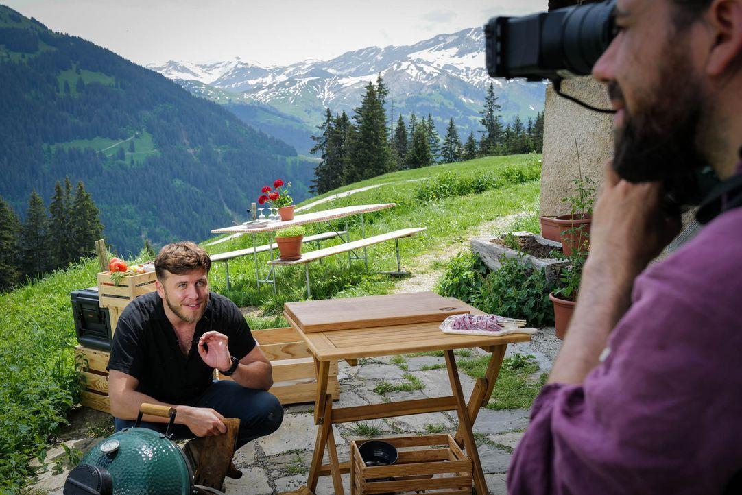 Alpengrillade im Berner Oberland