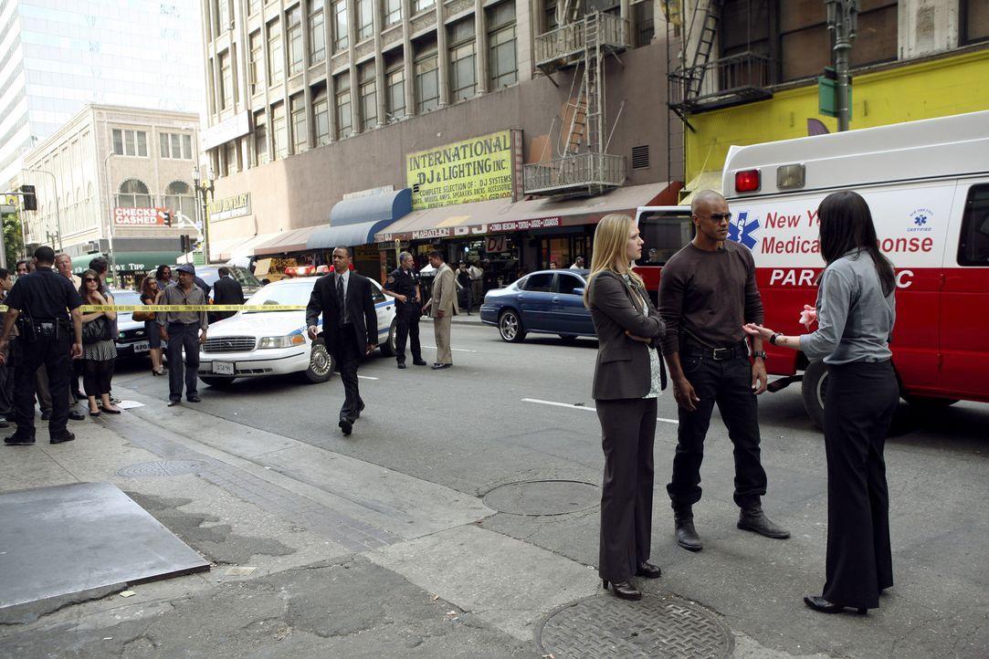 Bei den Ermittlungen ihres neuen Falles wird dem Team nach und nach klar, dass sie es mit einer Terrorgruppe zu tun hat: Emily Prentiss (Paget Brews... - Bildquelle: Touchstone Television