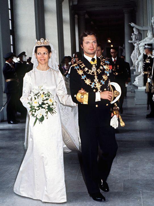Koenig-Carl-Gustaf-Silvia-von-Schweden-1976-06-19-dpa - Bildquelle: dpa