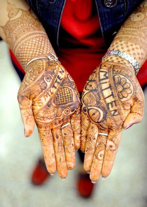 Henna-Tattoo-dpa - Bildquelle: dpa