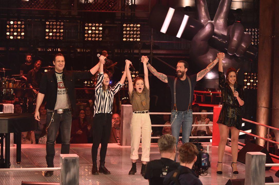 Battlesiegerinnen Mimi und Josefin - Bildquelle: SAT.1 / Andre Kowalski