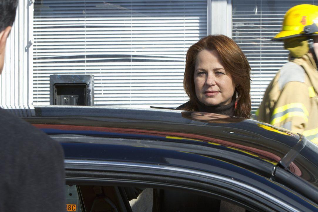 Bekommt Hilfe bei der Aufklärung eines neuen Falles vom Team der BAU: Agent Bates (Deidre Lovejoy) ... - Bildquelle: ABC Studios