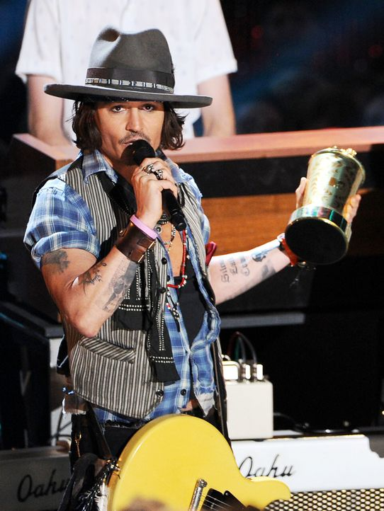 mtv-movie-awards-Johnny-Depp3-12-06-03-getty-AFP - Bildquelle: getty-AFP