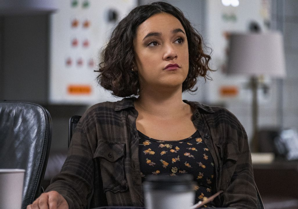 Hana Gibson (Keisha Castle-Hughes) - Bildquelle: Jeff Neumann 2019 CBS Broadcasting, Inc. All Rights Reserved. / Jeff Neumann