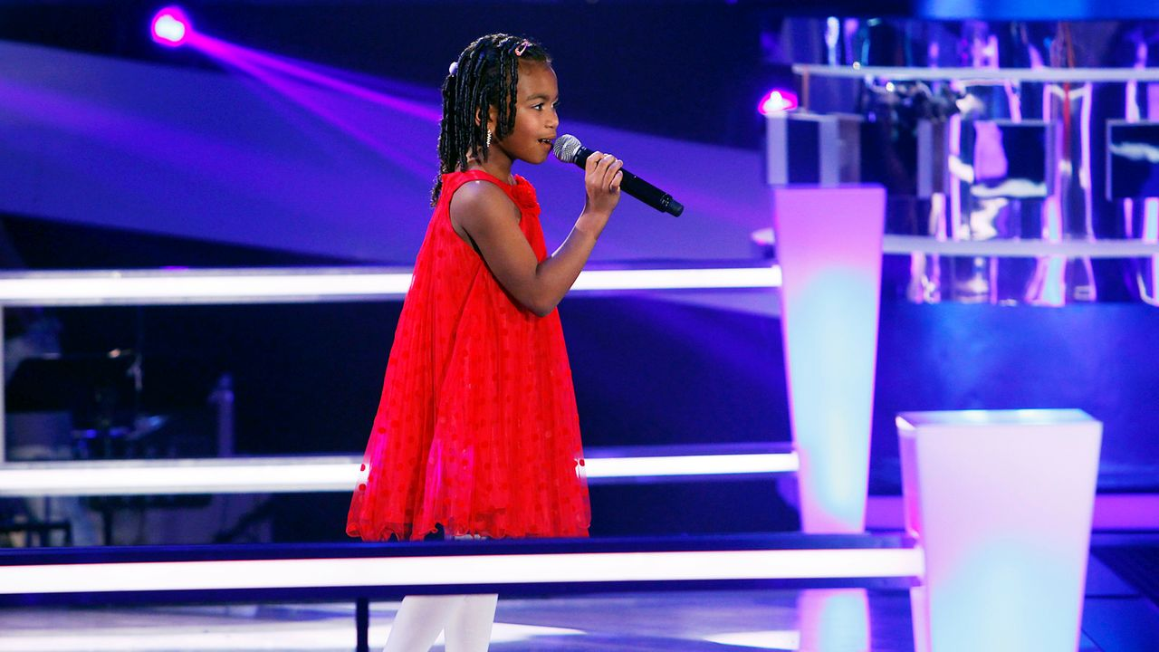 The-Voice-Kids-epi05-Chelsea-1-SAT1-Richard-Huebner - Bildquelle: SAT.1/Richard Hübner