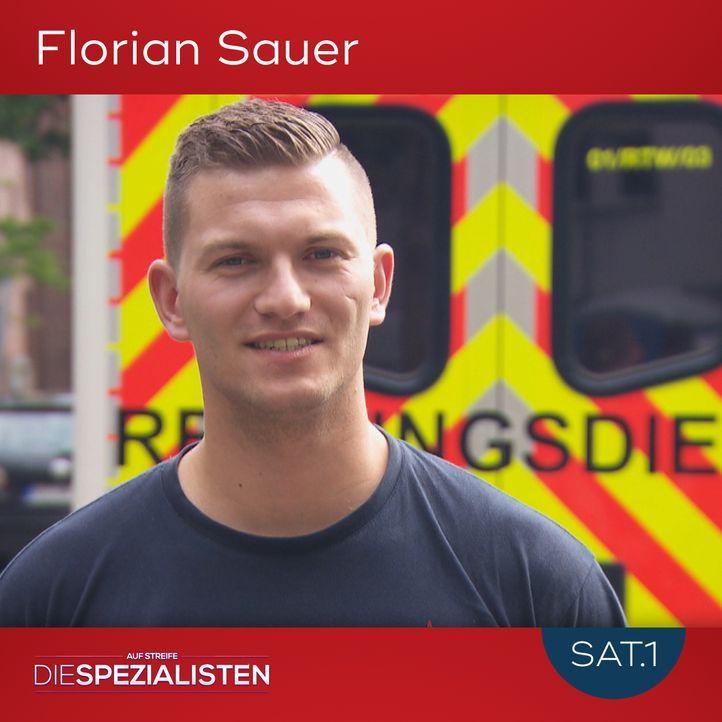 Florian Sauer - Bildquelle: SAT.1