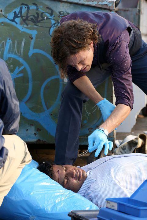 Sucht am Tatort nach Hinweisen, um einen Serienmörder zu fassen: Reid (Matthew Gray Gubler) ... - Bildquelle: Michael Yarish ABC Studios