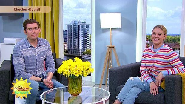 Frühstücksfernsehen - Frühstücksfernsehen - 06.04.2020: Videounterricht, Collien Ulmen-fernandes & Checker David