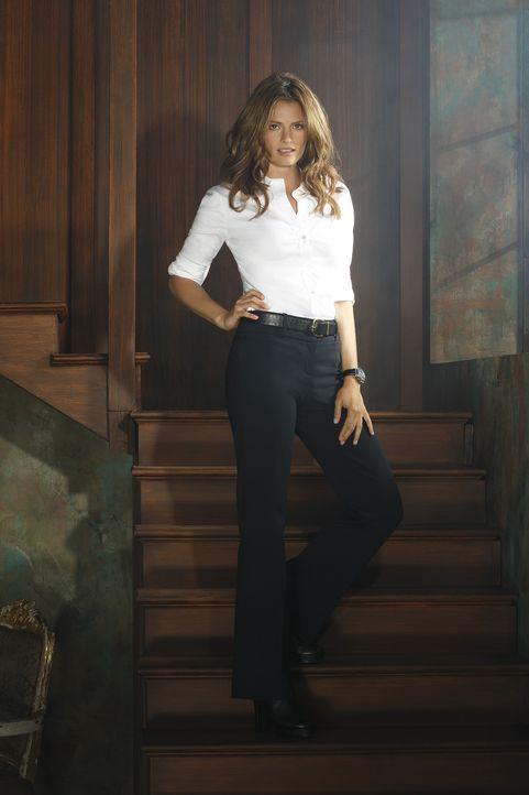 (7. Staffel) - Kate Beckett (Stana Katic) liebt nicht nur Castles Mystery-Romane ... - Bildquelle: ABC Studios
