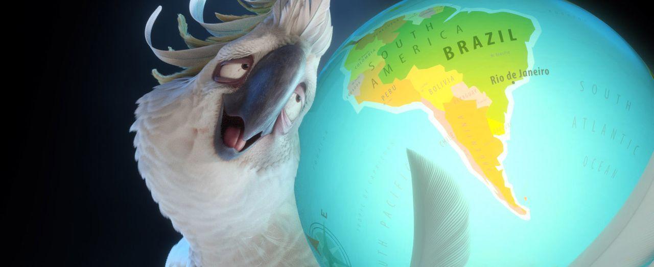 Führt nichts Gutes im Schilde: der weiße Kakadu Nigel ... - Bildquelle: Blue Sky Studios 2011 Twentieth Century Fox Film Corporation. All rights reserved.