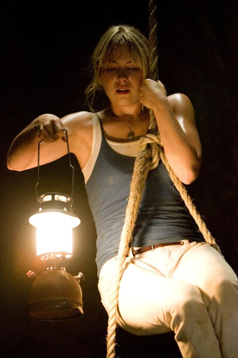 Bereits nach kurzer Zeit wird Stacy (Laura Ramsey) klar, dass in dem Maya-Tempel einst Menschen geopfert werden - und dass irgendwas nach wie vor hi... - Bildquelle: Vince Valitutti 2008 DreamWorks LLC. All Rights Reserved.