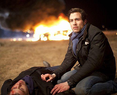 Ein schrecklicher Unfall ist geschehen - wird Michael Julian retten können? - Bildquelle: David Saretzki - Sat1