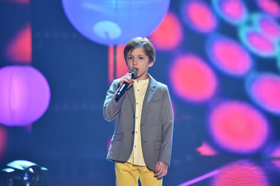 The-Voice-Kids-Stf03-Finale-Probe-72-Nestor-SAT1-Andre-Kowalski - Bildquelle: SAT.1/ Andre Kowalski