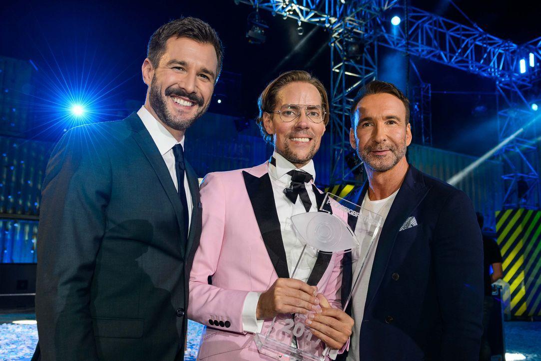 Jens Hilbert gewinnt Promi Big Brother 2017 - Bildquelle: SAT.1