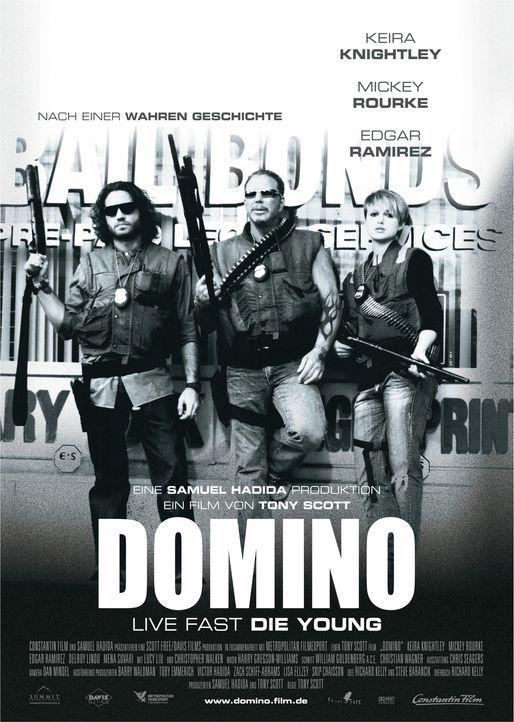 DOMINO - LIVE FAST, DIE YOUNG - Plakatmotiv - Bildquelle: Constantin Film