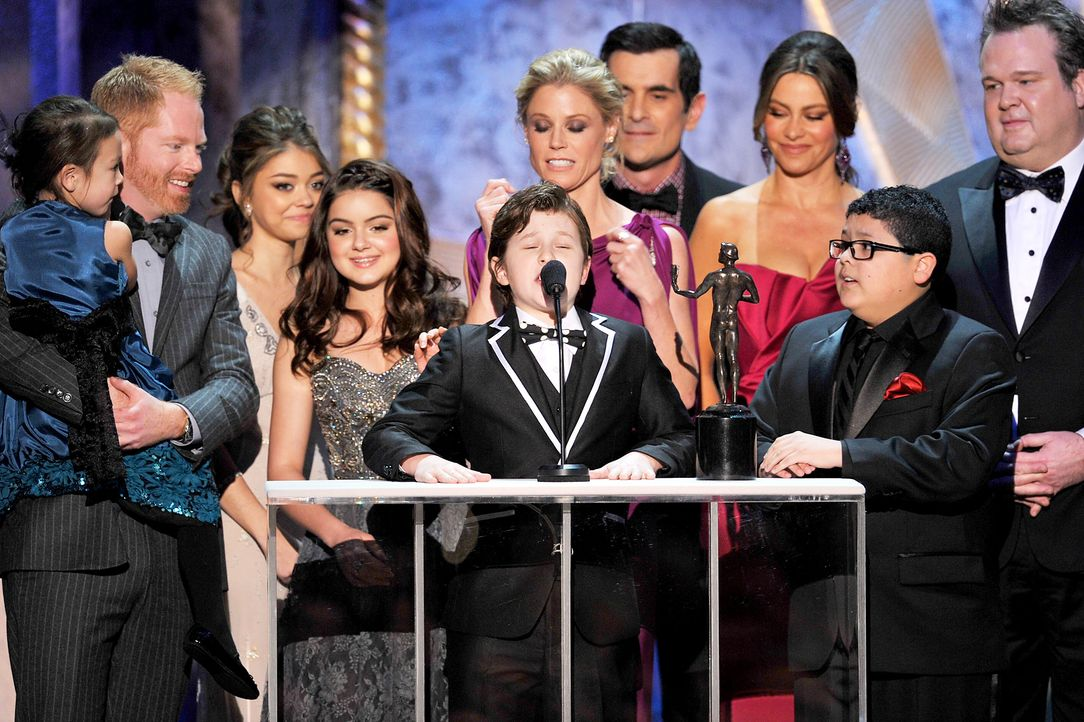 "Die Besetzung von ""Modern Family"" bei den Screen Actors Guild Awards (SAG)  - Bildquelle: getty-AFP"