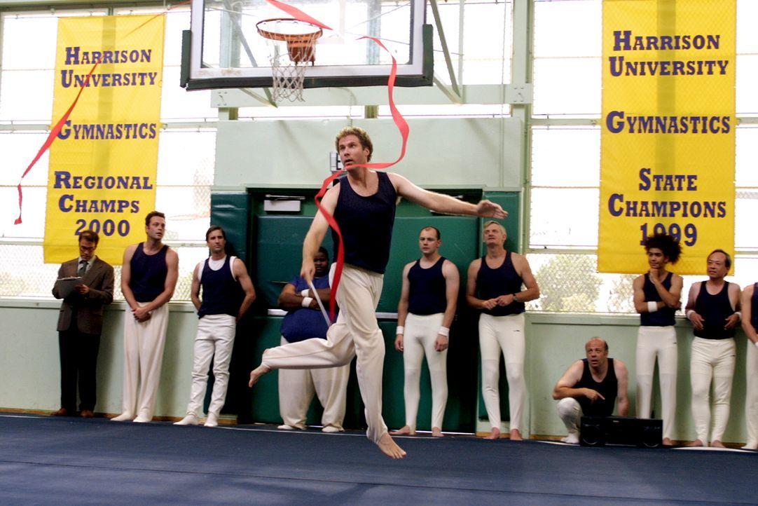 Eignungstest in rhythmischer Gymnastik: Frank (Will Ferrell) ... - Bildquelle: DreamWorks SKG