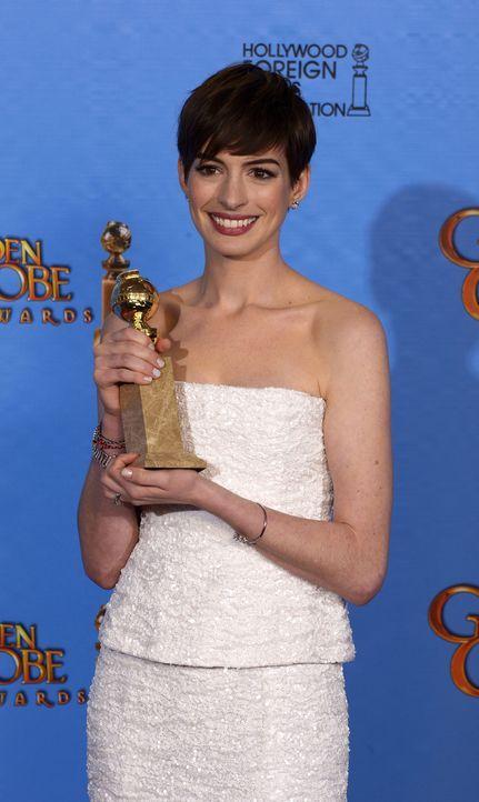 Anne Hathaway - Bildquelle: +++(c) dpa - Bildfunk+++ Verwendung nur in Deutschland