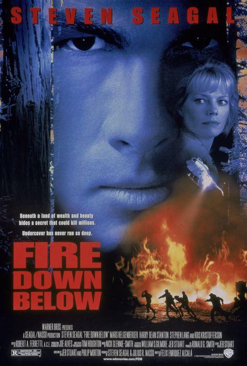 Fire down below - Plakatmotiv - Bildquelle: Warner Bros. Entertainment Inc.