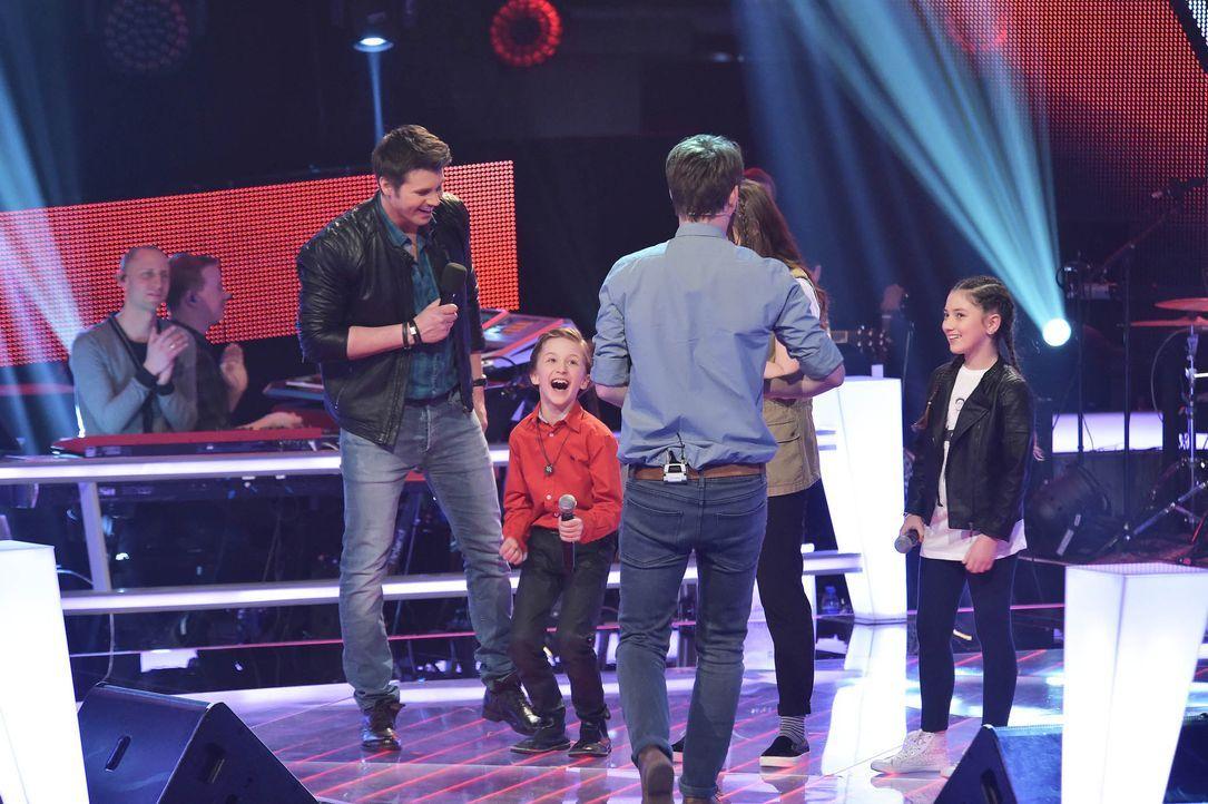 The-Voice-Kids-Stf03-Epi05-52-Nestor-SAT1-Andre-Kowalski - Bildquelle: SAT.1/ Andre Kowalski