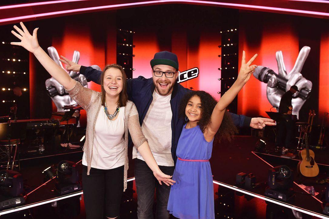 The-Voice-Kids-Stf03-Epi07-TEASER-16-Antonia-Zoe-SAT1-Andre-Kowalski - Bildquelle: SAT.1/ Andre Kowalski