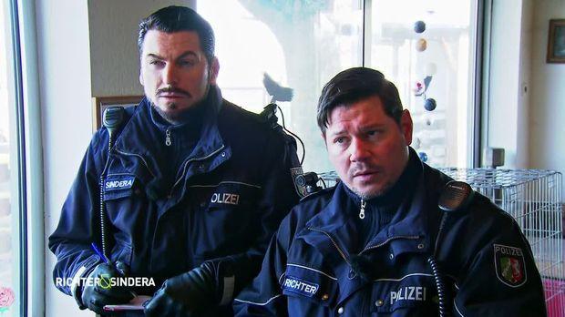 Richter Und Sindera - Ein Team Für Harte Fälle - Richter Und Sindera - Ein Team Für Harte Fälle - Hundeelend
