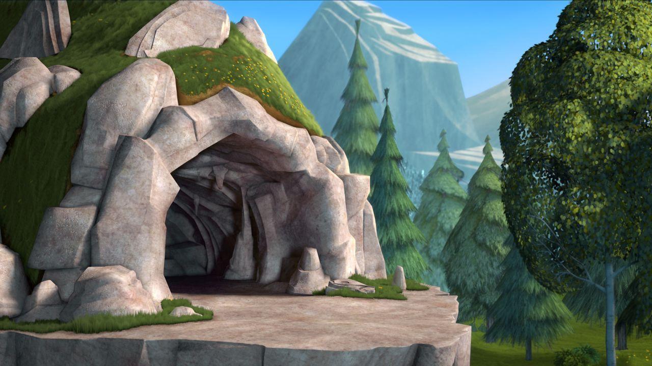 Frei sein, als richtig wilder Bär in der Wildnis leben, all das wünscht sich der Zirkusbär Doug schon ewig und ergreift seine Chance, als Boog zu... - Bildquelle: 2010 Sony Pictures Animation Inc. All Rights Reserved.