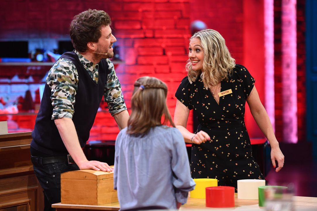 Luke Mockridge (l.); Ruth Moschner (r.) - Bildquelle: Willi Weber SAT.1