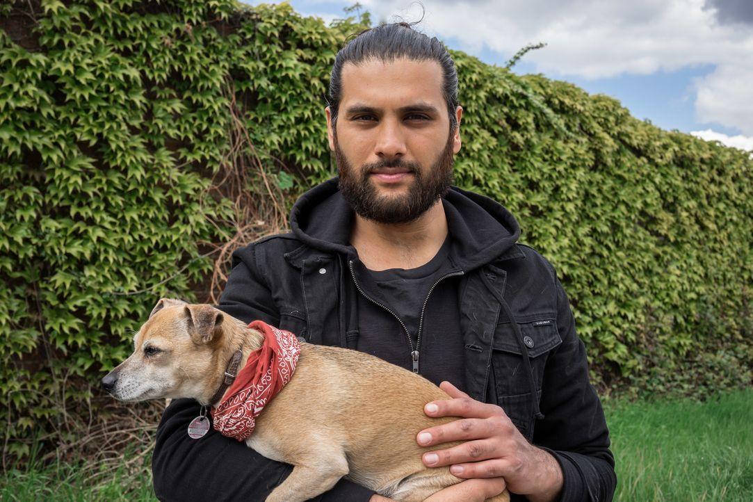 In so manchem heimatlosen Vierbeiner schlummert ein wahrer Superhund. Masih Samin (Foto) möchte die besonderen Fähigkeiten der Hunde erkennen und si... - Bildquelle: SAT.1