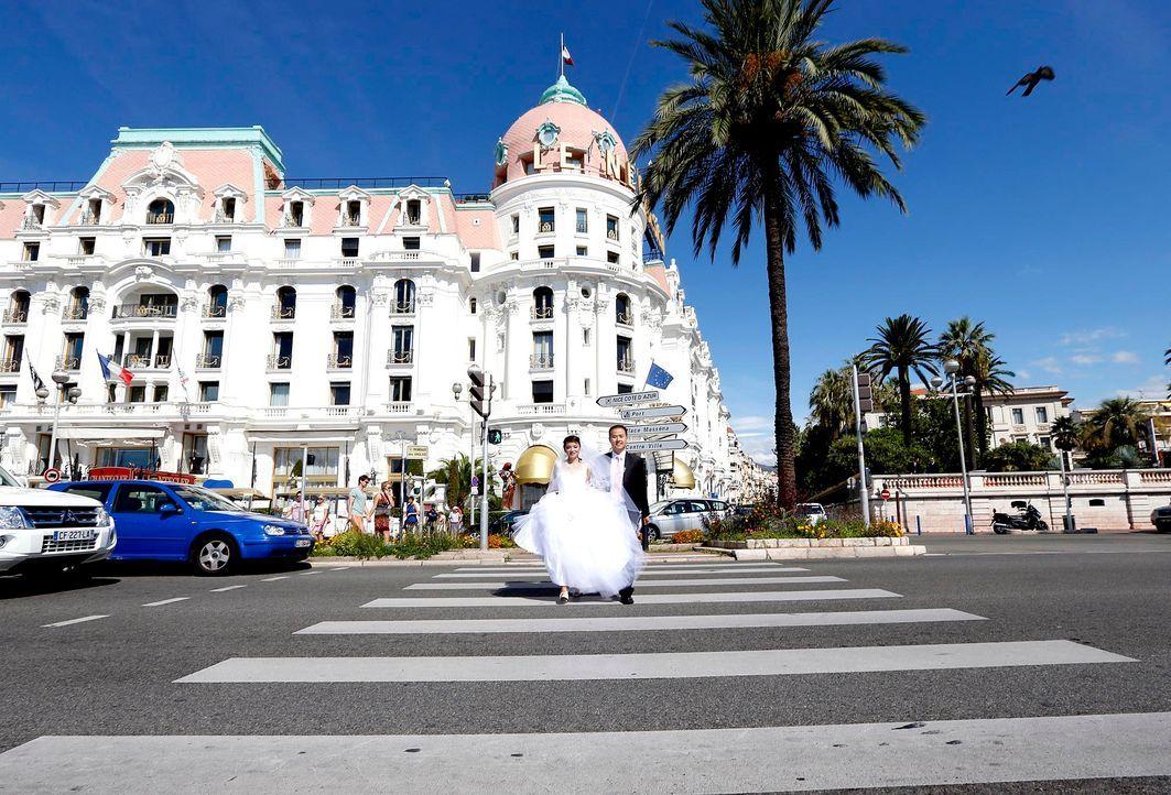 Nizza-Hochzeitspaar-AFP - Bildquelle: AFP Photo