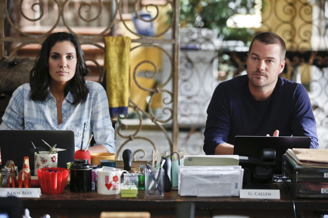 Ein neuer Fall wartet auf Callen (Chris O'Donnell, r.) und Kensi (Daniela Ruah, l.) ... - Bildquelle: CBS Studios Inc. All Rights Reserved.
