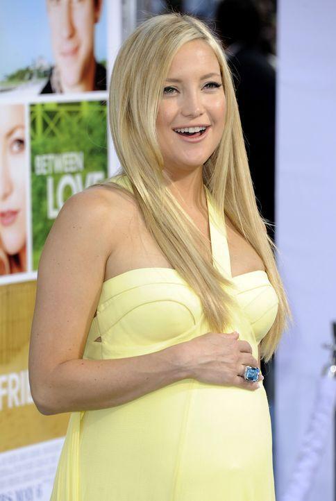 Die schwangere Kate Hudson - Bildquelle: +++(c) dpa - Bildfunk+++Verwendung nur in Deutschland