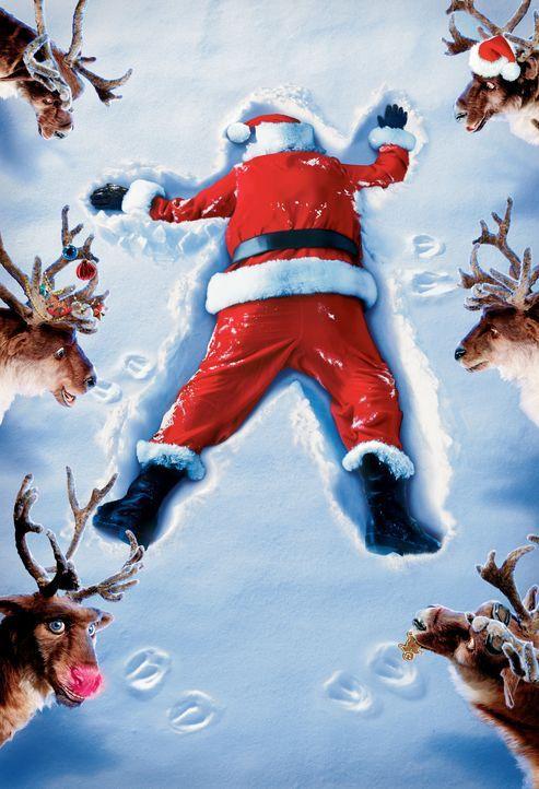 Armer Santa Claus: Er hat Stress mit seiner Spielzeugfabrik, mit seinem Stellvertreter, mit den Rentieren, mit dem Sohn und überhaupt ... - Bildquelle: Walt Disney Pictures