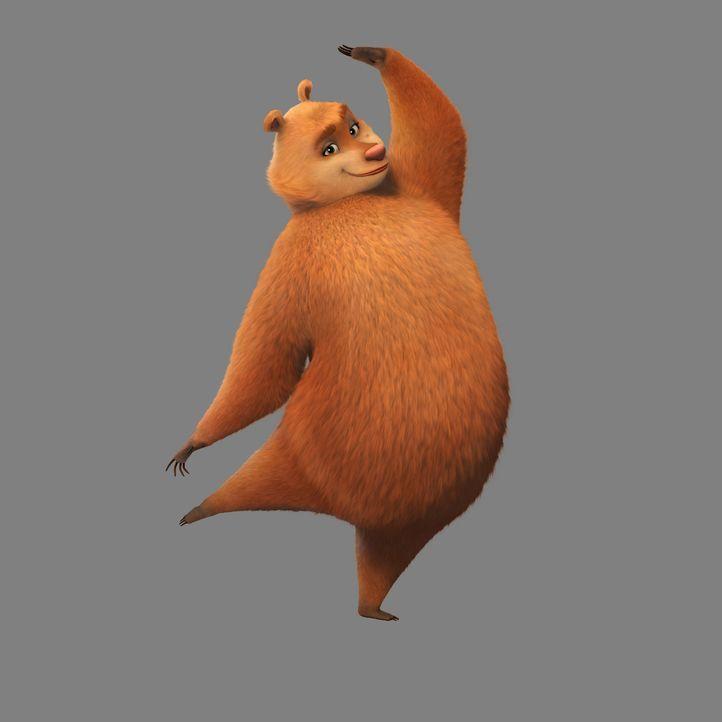 Der Zirkusbär Doug kennt sich mit Täuschungen aus und nutzt die Gutgläubigkeit des liebenswerten Boog aus, um endlich in Freiheit leben zu könne... - Bildquelle: 2010 Sony Pictures Animation Inc. All Rights Reserved.