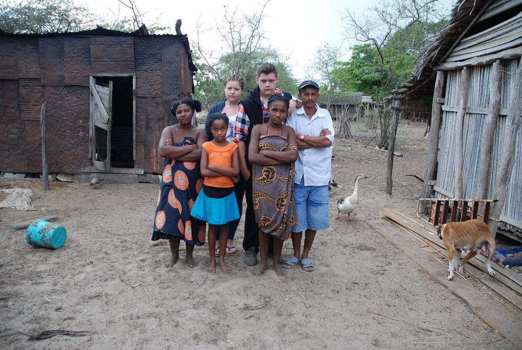 Die französische Republik Madagaskar im Indischen Ozean. Etwa 400 Kilometer vor der Südküste Afrikas. Am nördlichen Ende der Insel liegt das Dor... - Bildquelle: kabel eins