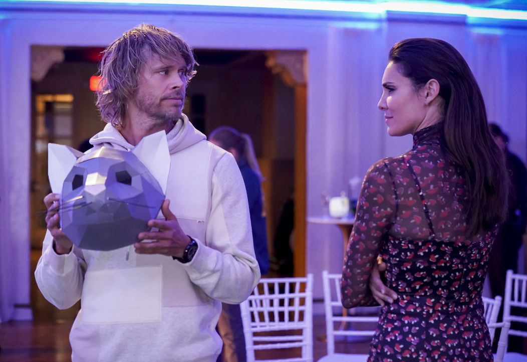 Marty Deeks (Eric Christian Olsen, l.); Kensi Blye (Daniela Ruah, r.) - Bildquelle: Sonja Flemming 2019 CBS Broadcasting, Inc. All Rights Reserved. / Sonja Flemming