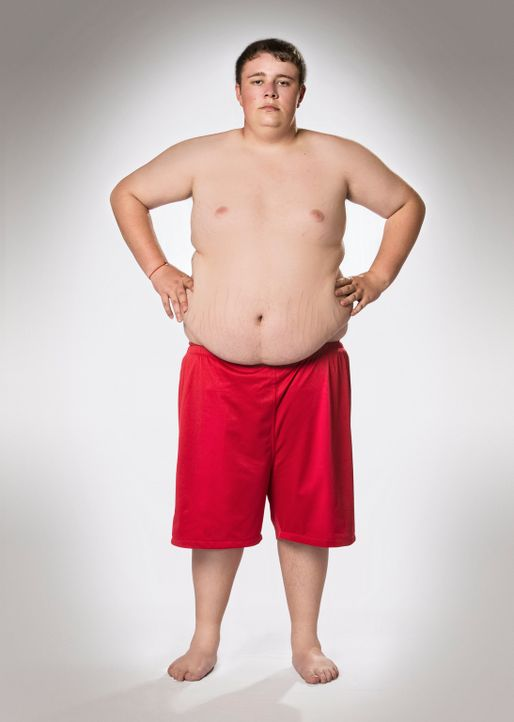 """Möchte bei """"The Biggest Loser - Teens"""" durchstarten in ein neues leichteres Leben: Kevin - Bildquelle: Morris MacMatzen SAT.1"""