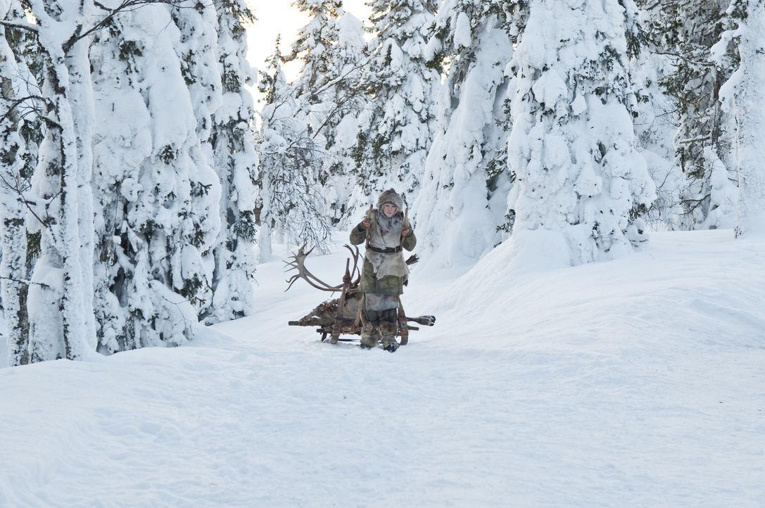 Ihr ganzes bisheriges Leben hat Hanna (Saoirse Ronan) in der arktischen Wildnis Finnlands verbracht. Dort wurde sie unermüdlich von ihrem Vater in a... - Bildquelle: 2011 Focus Features LLC. All Rights Reserved.