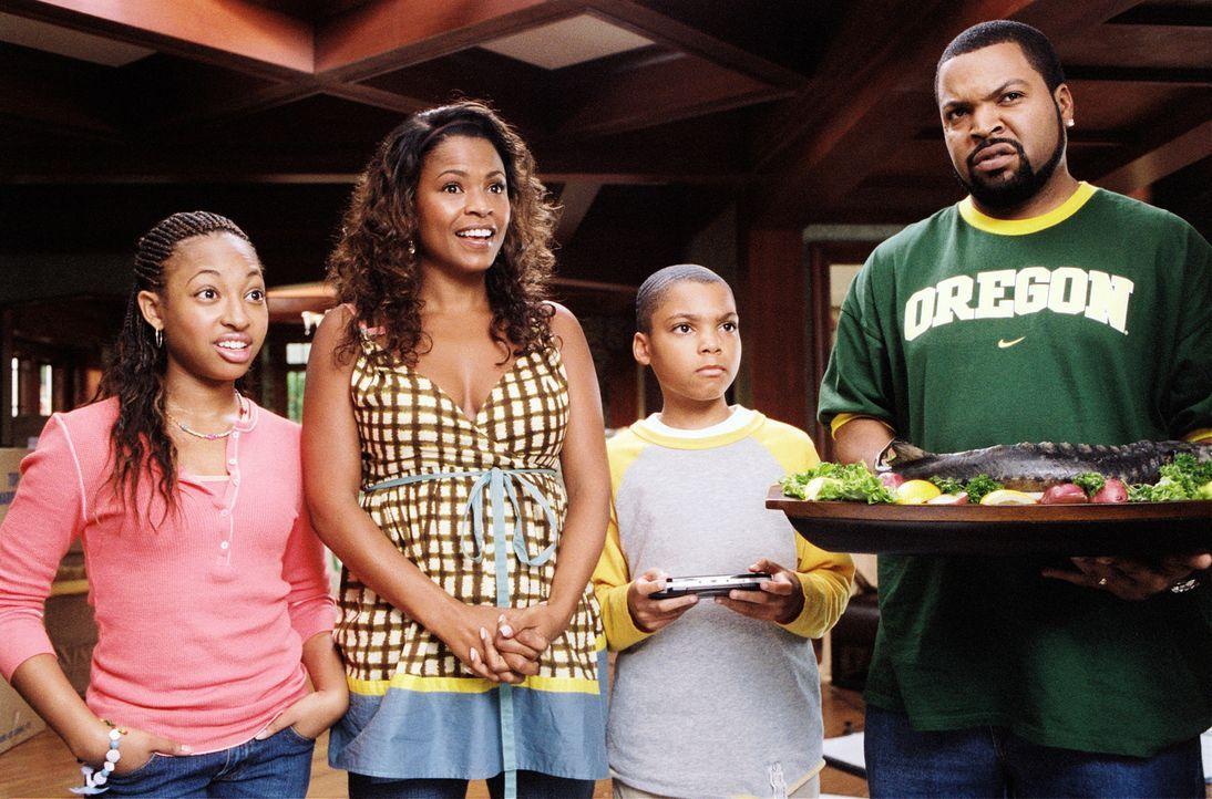 Nicht ahnend, was auf sie zukommt, gibt Suzanne (Nia Long, 2.v.l.) schließlich dem Vorschlag Nicks (Ice Cube, r.) nach, das Haus eigenhändig zu reno... - Bildquelle: 2007 Revolution Studios Distribution Company, LLC. All Rights Reserved.