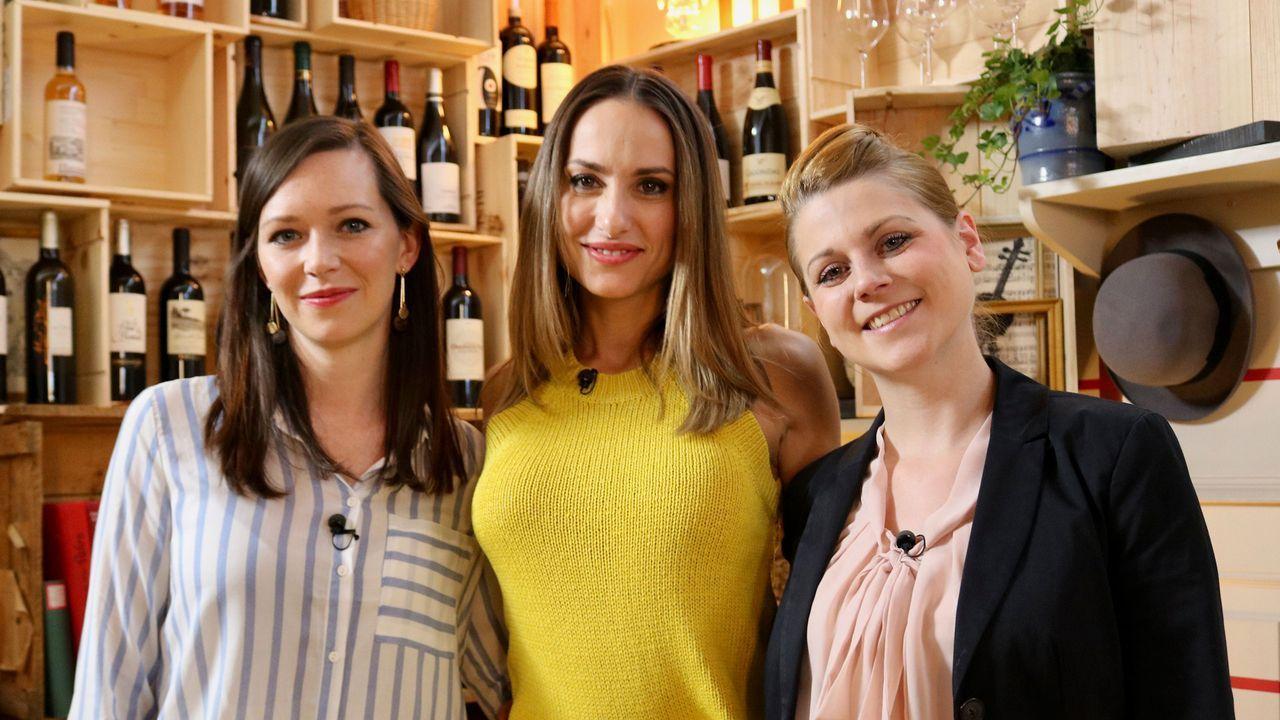 Madeleine Löhner, Zoe Torinesi und Lisa Bader